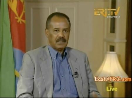 Issayas Afeworki sur Eri-TV, le 28 décembre 2012