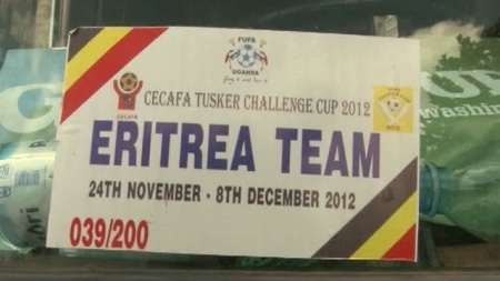 Eritrean team sign