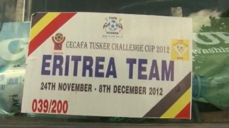 Eritrean team sign