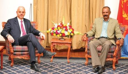 Deputy Foreign Minister Lapo Pistelli eritrea